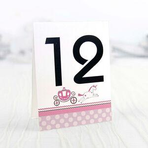 Număr masă pampers roz cod 1503
