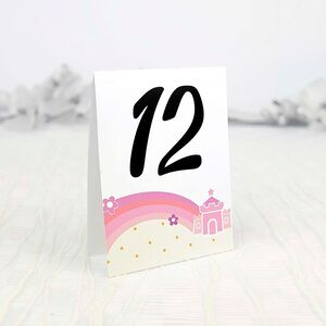 Număr masă prințesă cod 1507