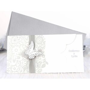 "Invitatie ""Fluture 3D"" cod 39222"