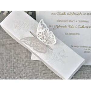 Invitatie de nunta tip cutiuta cod 39338