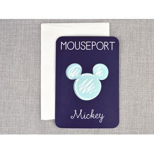 Invitatie botez pasaport Mickey cod 15705
