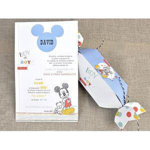 Invitatie botez Mickey bomboana cod 15721