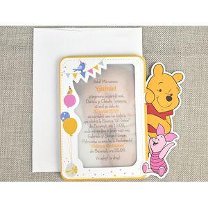 Invitatie botez Winnie the Pooh cod 15729