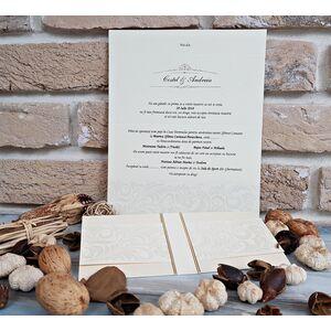 Invitatie nunta eleganta cod 2619