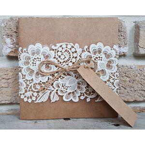 Invitatie nunta eleganta cod 2666