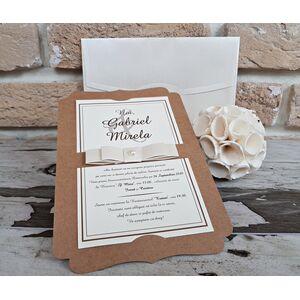 Invitatie nunta eleganta cod 2764