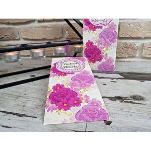 Invitatie nunta cu tematica florala cod 2782