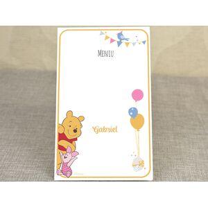 Meniu botez 'Winnie the Pooh' cod 3729