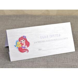 Card de masa/plic de bani botez 'Micuta Sirena' cod 5703