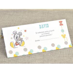 Card de masa/plic de bani botez 'Mickey bomboana' cod 5721