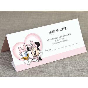 Card de masa/plic de bani botez 'Minnie si prietenii' cod 5722