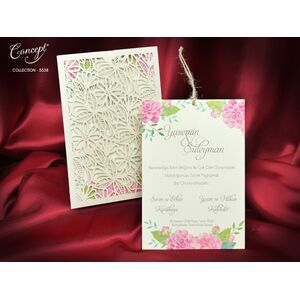 Invitatie nunta cod 5583