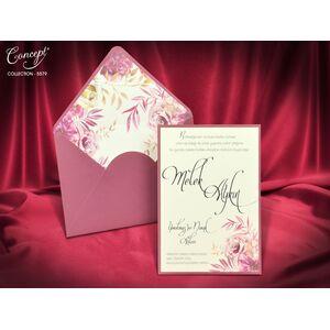 Invitatie nunta cod 5579