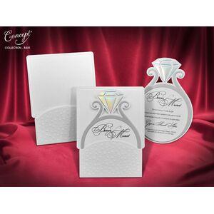 Invitatie nunta cod 5581