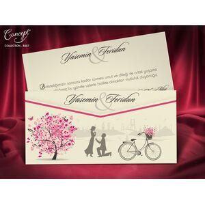 Invitatie nunta cod 5587