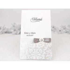 Meniu nunta elegant cod 3117