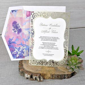 Invitatie de nunta eleganta cod 39341