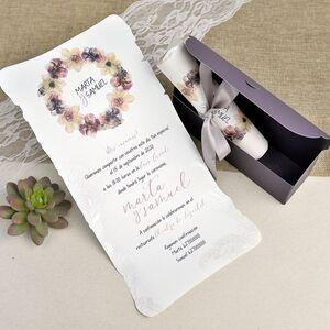 Invitatie nunta tip cufar cod 39627