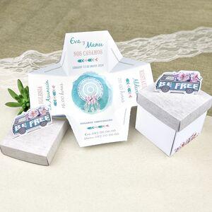 Invitatie nunta tip cutiuta cod 39628