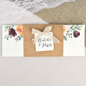 Invitatie nunta cu tematica florala 39637