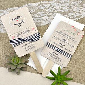 """Invitatie nunta tip """"inghetata"""" cod 39640"""