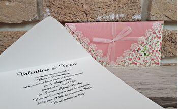 Invitatie nunta cu tematica florala cod 2779
