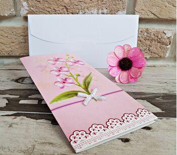 Invitatie nunta cu tematica florala cod 2785