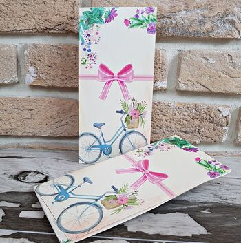 Invitatie nunta cu bicicleta cod 2784
